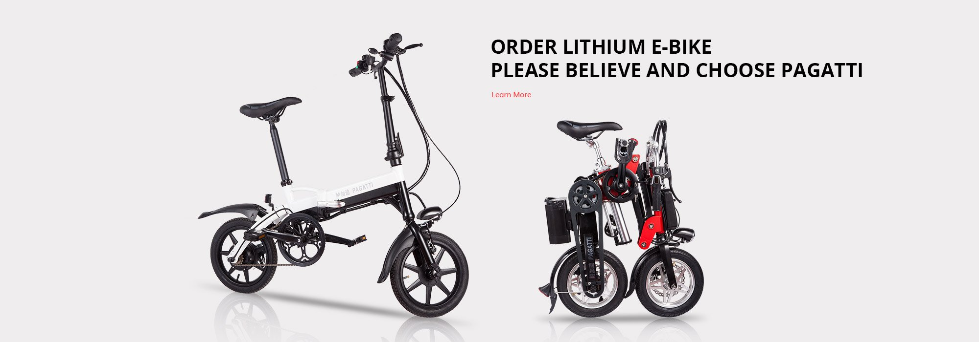 Lithium e-bicycles